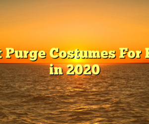 Best Purge Costumes For Kids in 2020