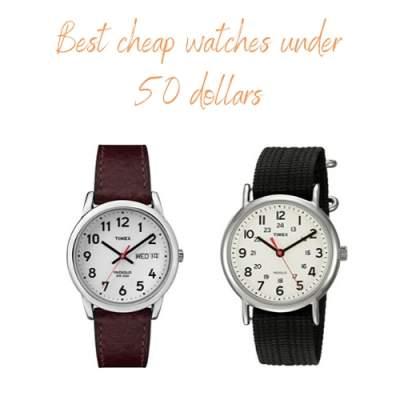 best watches under 50 dollars
