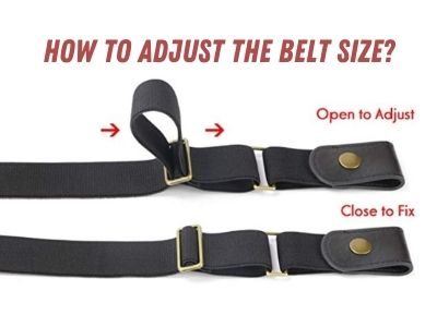 How to adjust the belt size