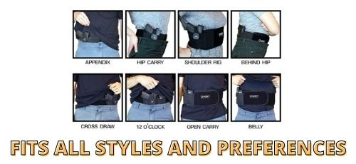 number 2 choice of belly band holster