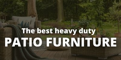 Patio Furniture for Heavy Weight 1